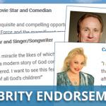 celebrity endorements