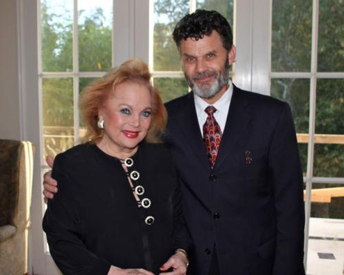 Two-Time Academy-Award Nominee Carol Connors with Dana McElwain