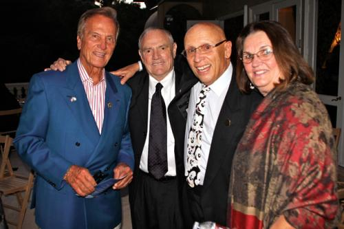 Pat Boone and Composer Allan Jay Friedman with Friends of Angels in the Sky