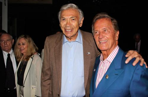 Ed Ames with Pat Boone