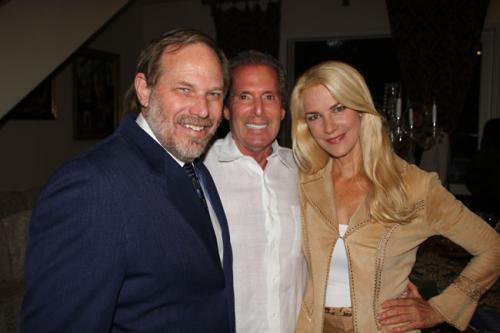 Our Executive Producer, Mark Lansky, flanked by Brittney Ryan and a Friend of Angels in the Sky